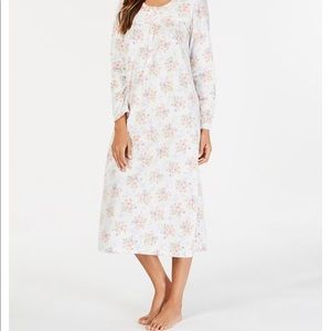 NWT sz xs charter club rose scroll nightgown